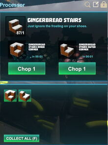 Creativerse R41,5 processing corners for stairs 528