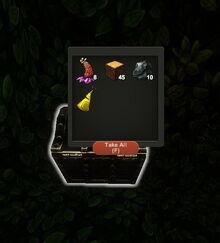 Creativerse wood treasure chest R26 07