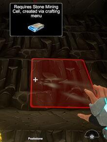 Creativerse Peakstone R24 Stone Mining Cell1010