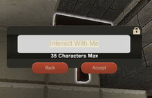 Creativerse Text-window for Wood Signs001