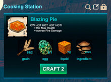 Cooking station-Pie-Blazing pie-R50