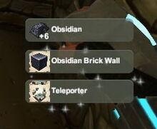 Creativerse unlock R22 Obsidian Bar Wall Teleporter993
