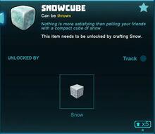 Creativerse snowcube unlock crafting 2018-09-27 18-36-37-83