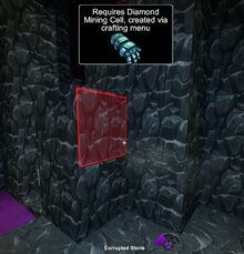 Creativerse corrupted stone requires diamond mining cell 2017-08-02 11-43-46-36