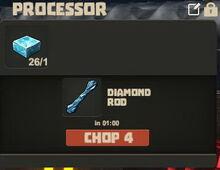 Creativerse Diamond slab and rod01