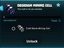 Creativerse unlocks R41 obsidian mining cell01