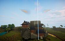 Qbits building castle