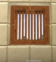 Creativerse Barred Window697
