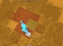 Creativerse gauntlet smash destroys tallgrass flowers and shrubs only with power cell 2018-10-10 14-10-45-97