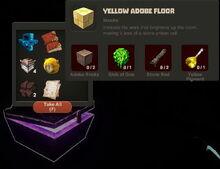 Creativerse Yellow Adobe Floor Diamond Chest 2015 8