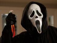 Ghostface in Scream 4 blurb