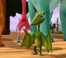 Tiny Pteranodon