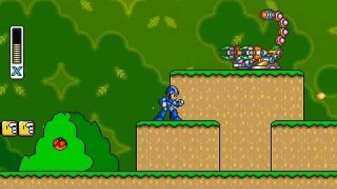 MegaMan X in Super Mario World