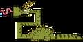 Trumpet Dragon MS Sprite