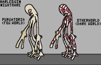 Harlequin Silent Hill Concept