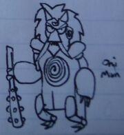 Oni Man Concept