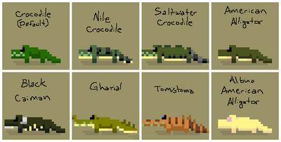 SS Croc Variants