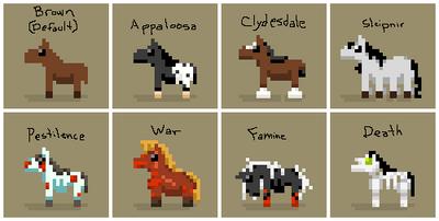 SS Horse Variants