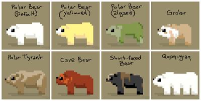 SS Polar Bear Variants