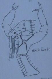 Black Death Concept