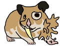 Syrilloid Hamster Concept Art