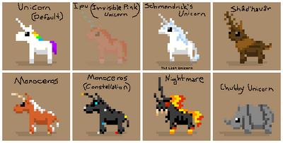 SS Unicorn Variants