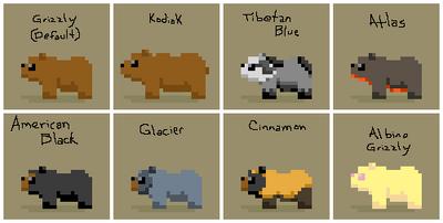 SS Boreal Bear Variants