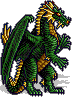 Heroes II Green Dragon