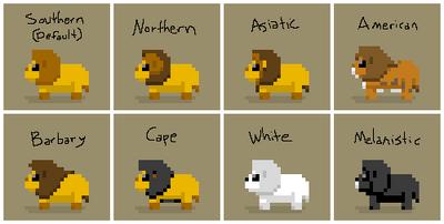 SS Lion Variants