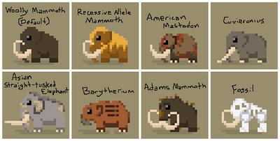 SS Mammoth Variants