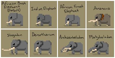 SS Elephant Variants