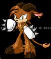 Sonic chara sepia the satyr by zephyros phoenix-d4kgfg3
