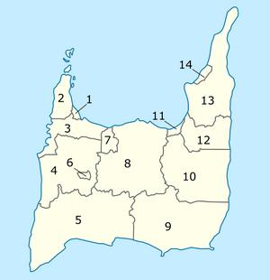 Mapa de Queerland