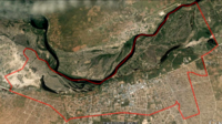 Dundu Aerial Municipality Map