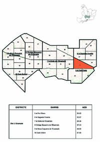 Área Estadística Básica de Barcelona nº22