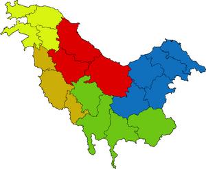 Condados en Pohlania
