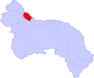 Distrito Georgetown Mapa
