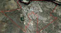 Mululu Aerial Municipality Map
