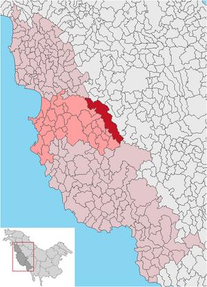 Muntii-corbii municipio