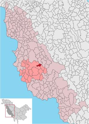Salcea in Zina municipio