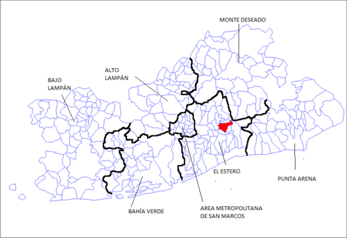 República Blanca mapa municipal y condal 2017