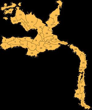 Walu Counties map