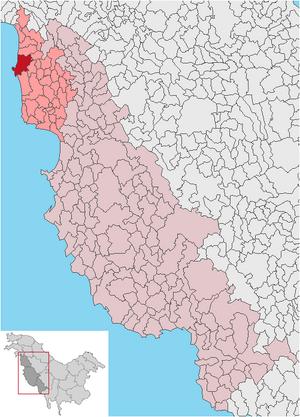 Plaja Alba municipio