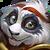 182 PandaHarrier Portrait