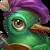 127 TroubadourBird Portrait