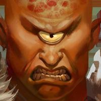 487 Cyclops Portrait