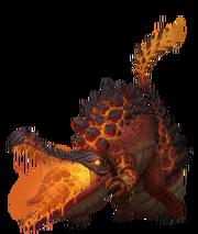 245 MagmaCrocodile