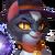 116 CharmedBlackCat Portrait