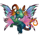 Rainbow Faerie Dragon