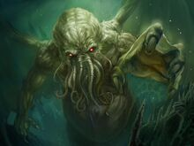 Cthulhu rising by somniturne1